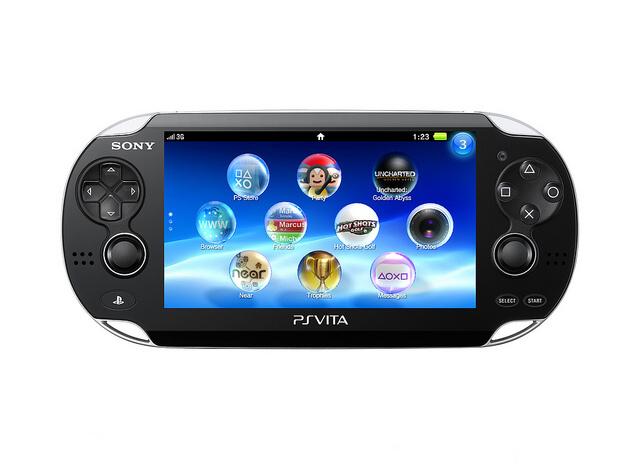 Пространство под игры PS Vita