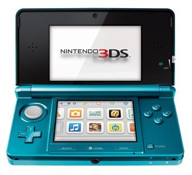 Пространство под игры Nintendo 3DS
