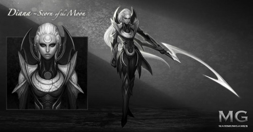 [League of Legends] Diana - Scorn of the Moon