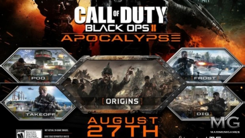 Подробности DLC Apocalypse для Call of Duty: Black Ops II