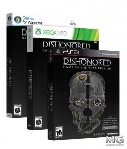 Dishonored: Game of the Year Edition анонсировано