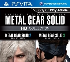 Metal Gear Solid HD Collection для PS Vita — в продаже
