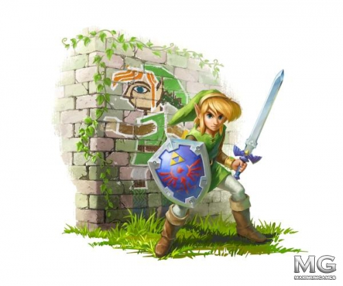 Геймплейный трейлер The Legend of Zelda: A Link Between Worlds