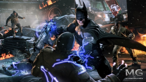 Batman: Arkham Origins - Молодо-зелено...
